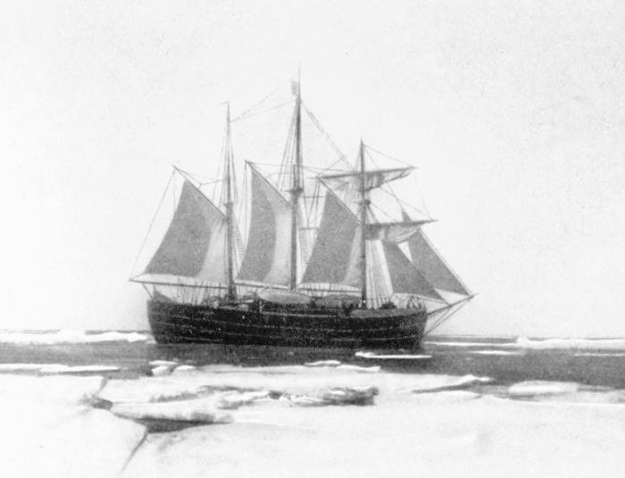 Fram in Antartica December 1911