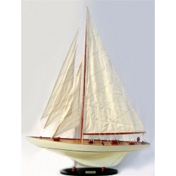 Shamrock - J Class Sailing Yacht Model