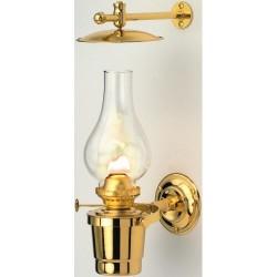 Gipsy Moth Gimballed Brass Oil Lamp