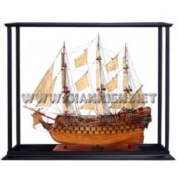 Tall Ship Display Case (80cm Model)