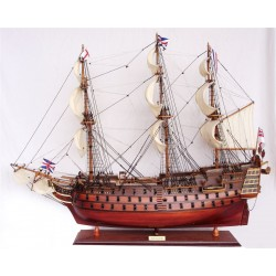 HMS Victory (wood finish) 70cm