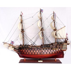 HMS Victory Wooden Detailed 80cm Model