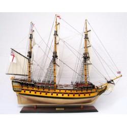 HMS Agamemnon Model - Painted