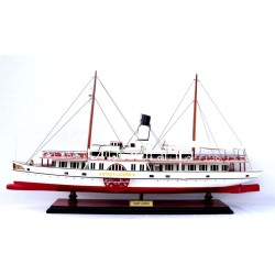 Stadt Luzern Paddle Steamer Model
