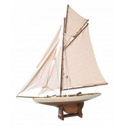 America's Cup Classic Yacht Model 42cm