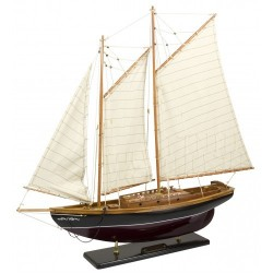 Gaff Rigged Schooner - 36 Inch Model