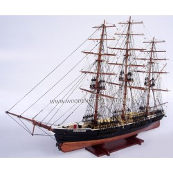Model of American Clipper ship Flying Cloud