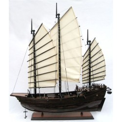Chinese Junk - Dark Wood Finish - 70 cm