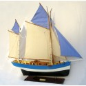 Marie Jeanne - Breton Tuna Boat model