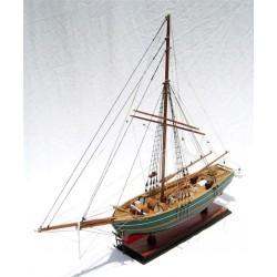 Gjoa Model Ship